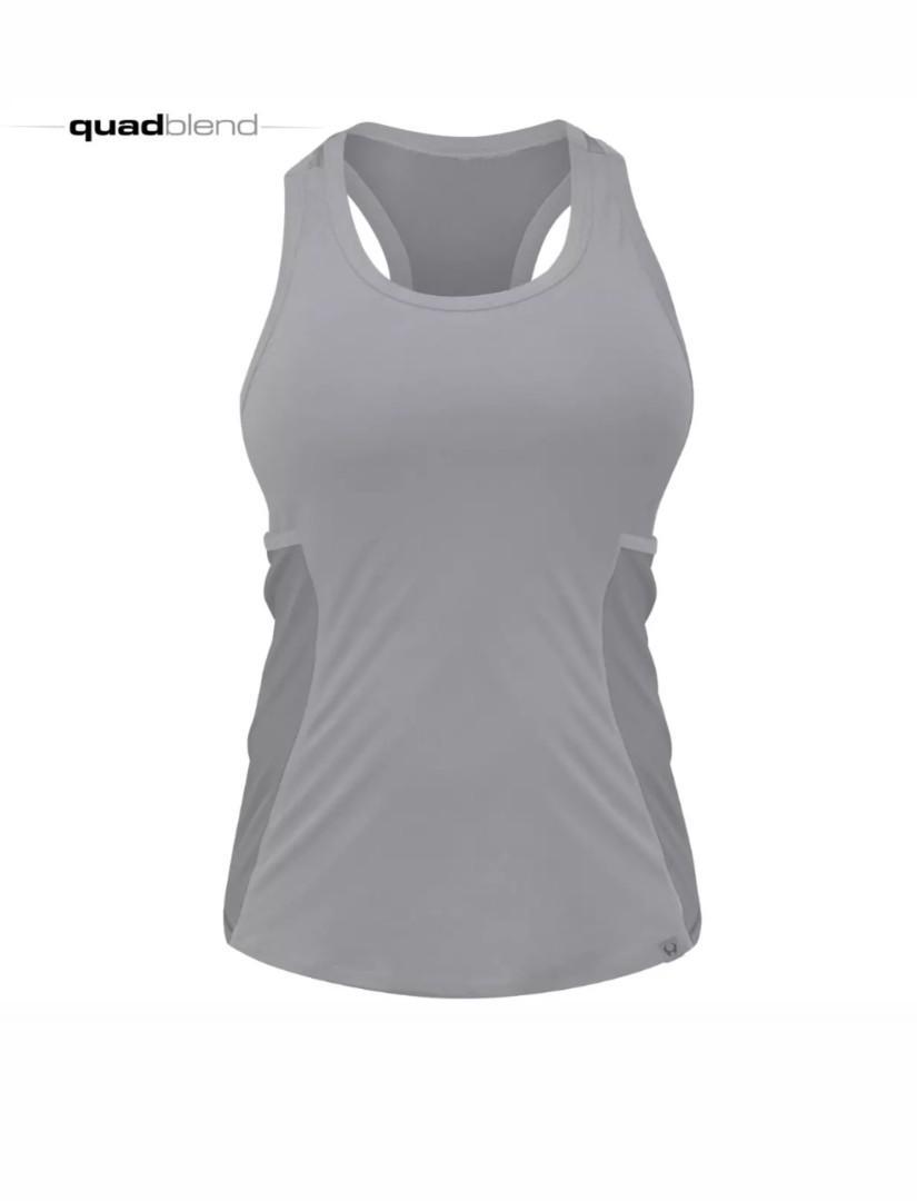 HYLETE New Women's Fitness CrossFit Sport Tank Singlet with Pocket Size XS S M L Black Grey