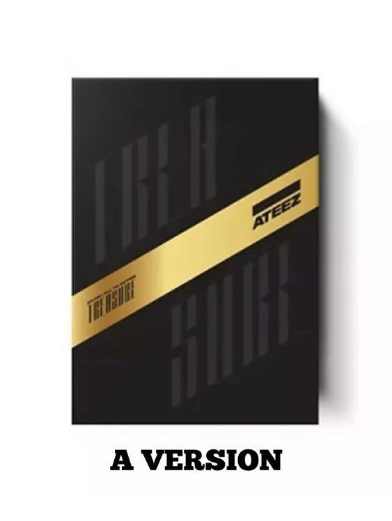 IN STOCK!!✨ATEEZ✨ [TREASURE EP.FIN:ALL TO ACTION] 1st Album -  SELECT A or Z VERSION