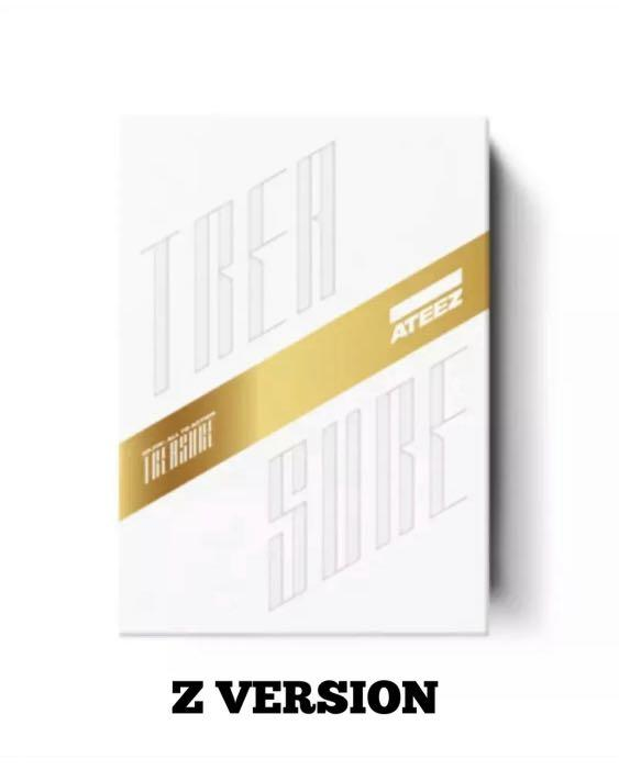 IN STOCK!!✨ATEEZ✨ [TREASURE EP.FIN:ALL TO ACTION] 1st Album -  SELECT A or Z VERSION + POSTER