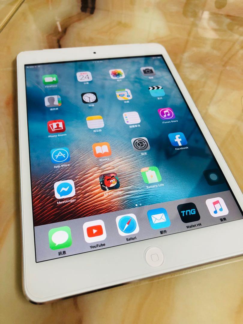 iPad mini 32GB (WiFi + Sim) White