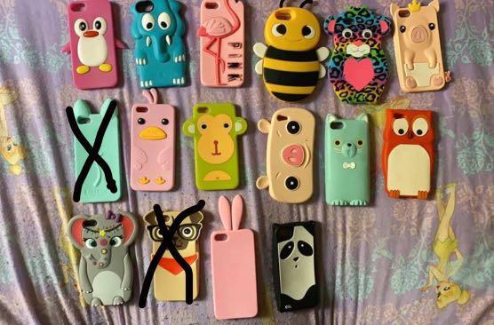 iPhone 5/5s/se cases for sale plz read description