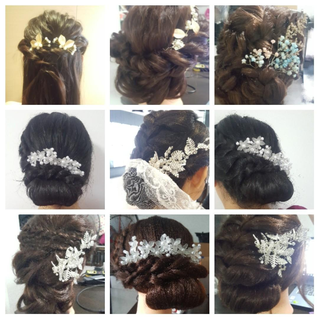 Bridal Makeup & hairstyle services