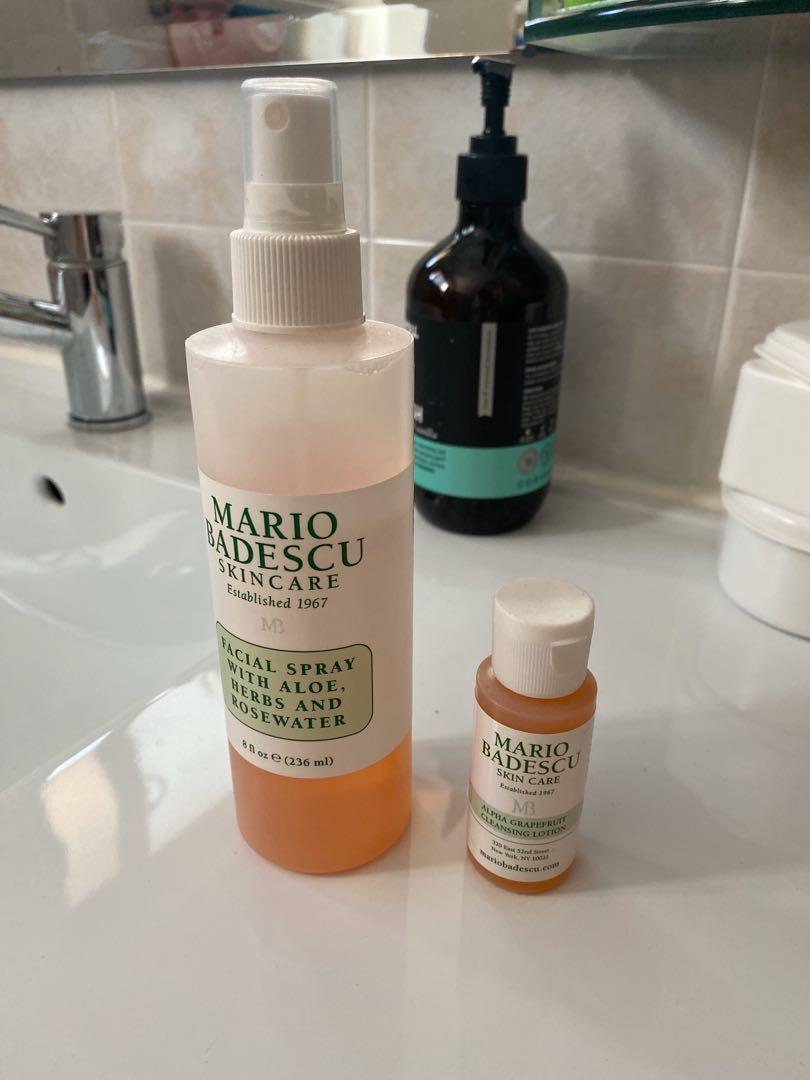 Mario Badescu Facial Spray + free full-size cleansing lotion