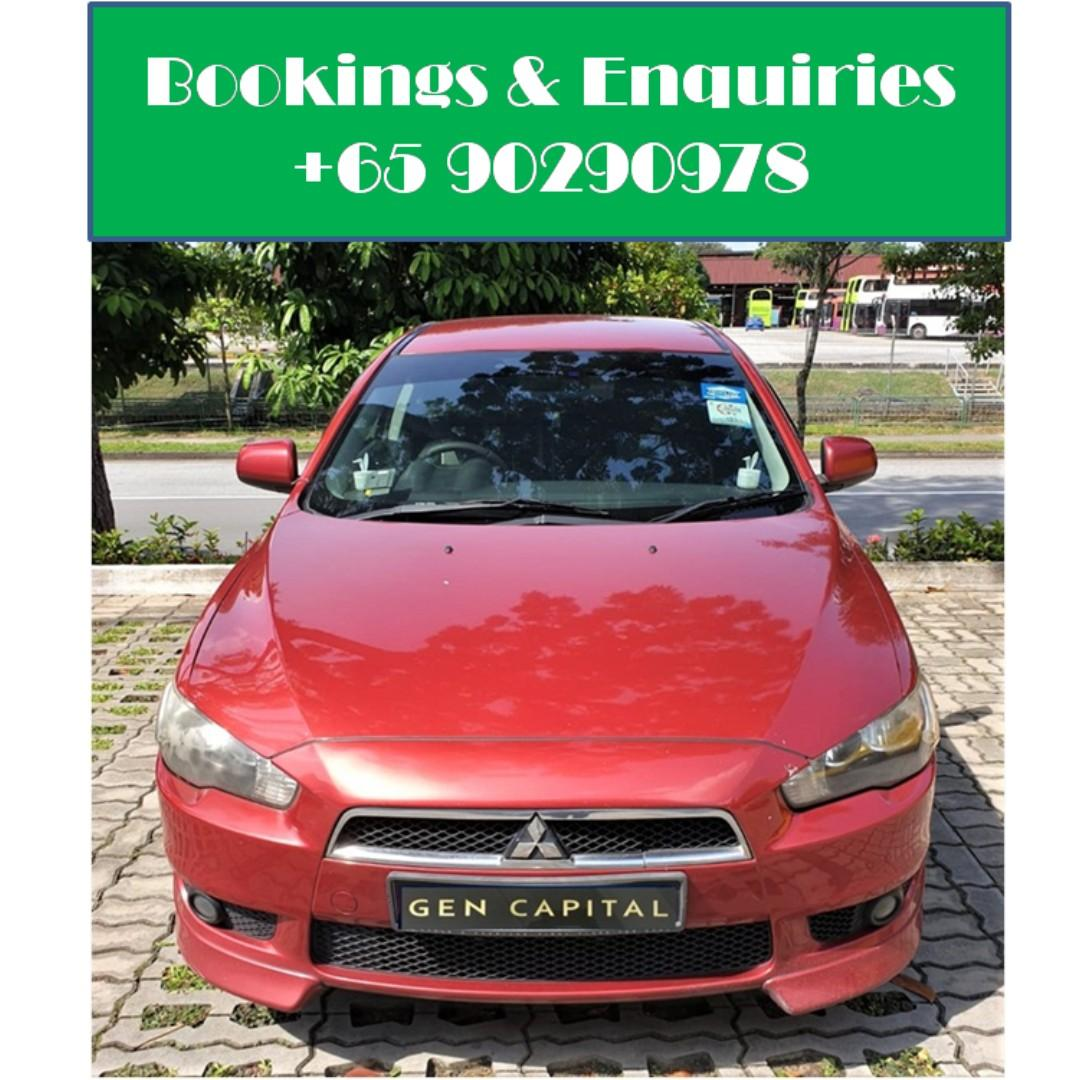 Mitsubishi Lancer EX - Many ranges of car to choose from, with very reliable rates! Hurry while car is still in stock!