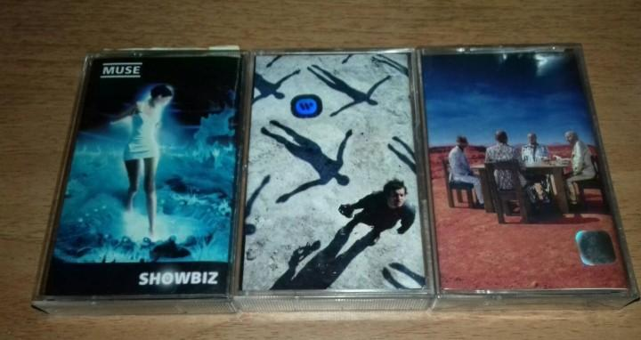 MUSE - Showbiz - Absolution - Black Holes And Revelations - Cassette Tape | Coldplay Radiohead Blur Gorillaz