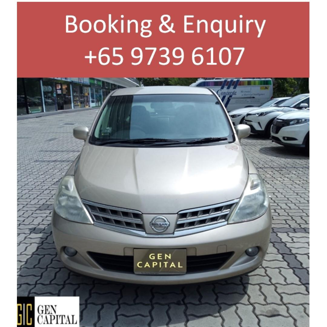 Nissan Latio - Your preferred rental, Abel @ 97396107 !!
