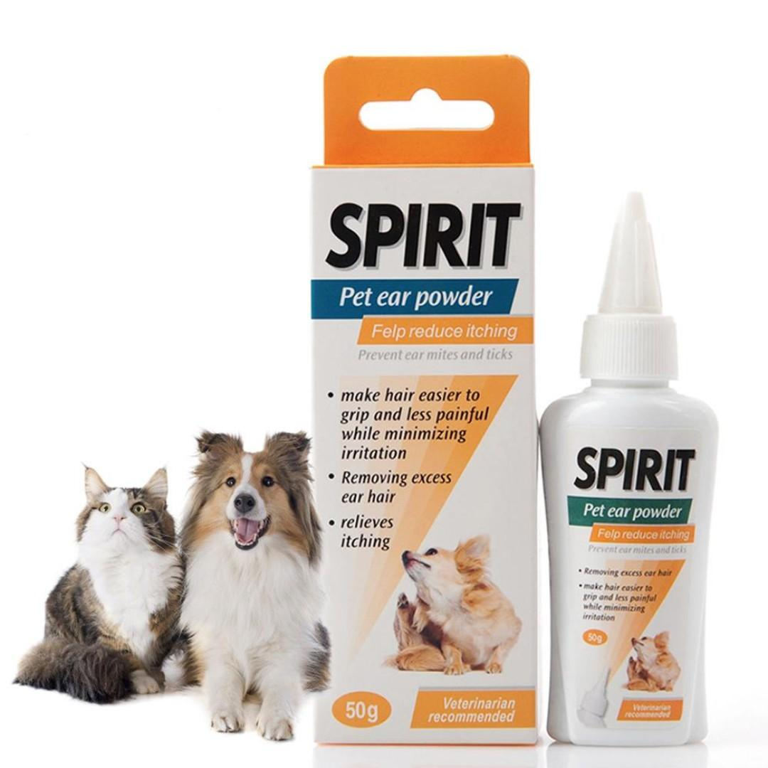 PET EAR POWDER - THE PERFECT WAY TO KEEP YOUR PET'S EARS CLEAN & INFECTION-FREE - (FREE SHIPPING)