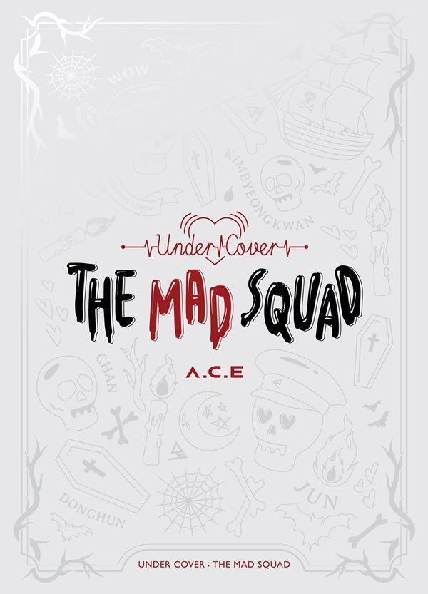 [Pre-Order] A.C.E - Mini Album Vol.3 (UNDER COVER : THE MAD SQUAD)