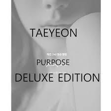 [Preorder]   TAEYEON Album VOL 2 - Purpose [DELUXE EDITION] + Limited Poster