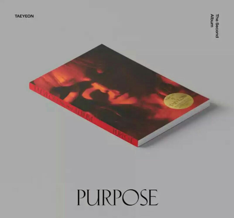 [Pre-order] Taeyeon (Girls Generation) - Purpose (2nd Album)
