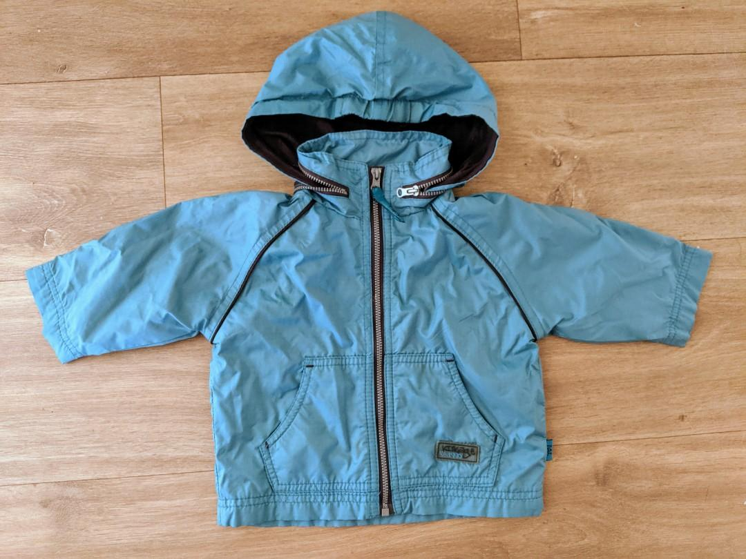 Pumkin Patch Spring Rain Baby Boy Blue Jacket Coat Size 0 (6-12 Months)