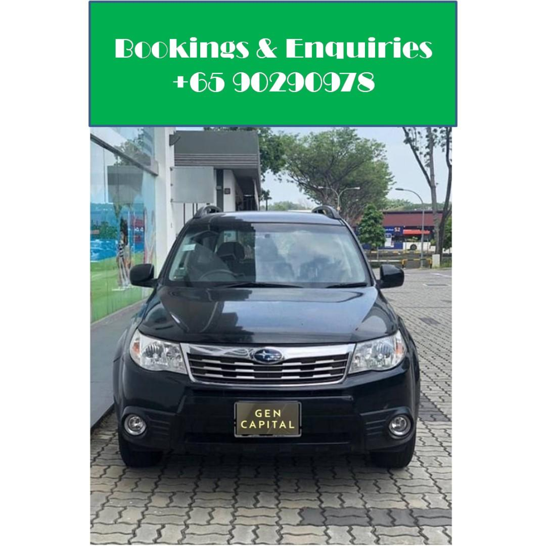 Subaru Forester - Many ranges of car to choose from, with very reliable rates! Hurry while car is still in stock!