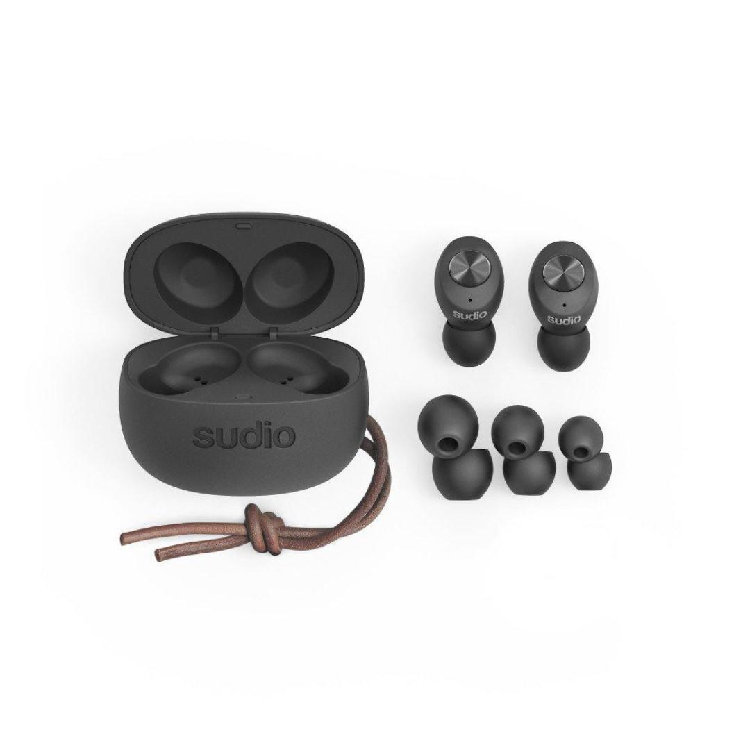 SUDIO - Tolv 真無線藍牙耳機 - 黑色