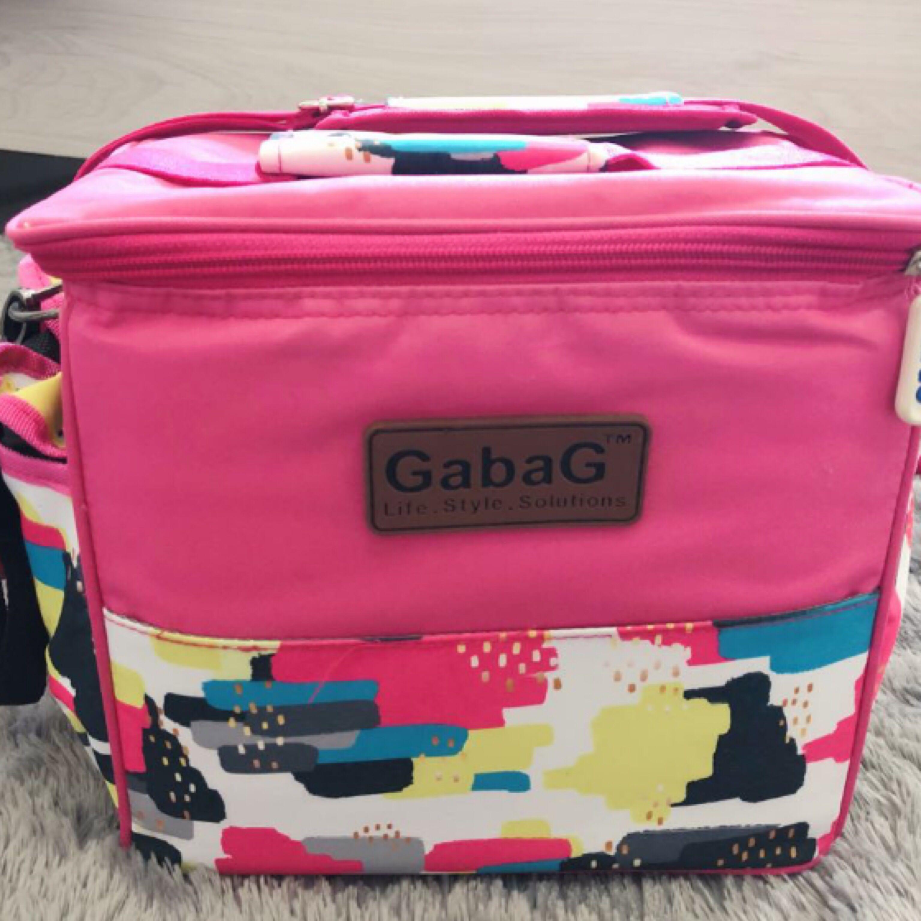 Tas pendingin ASI / gabag warna pink