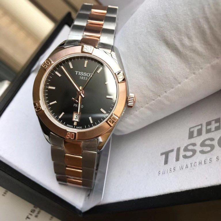 Tissot PR100 Anthracite Dial Ladies Watch T101.910.22.061.00