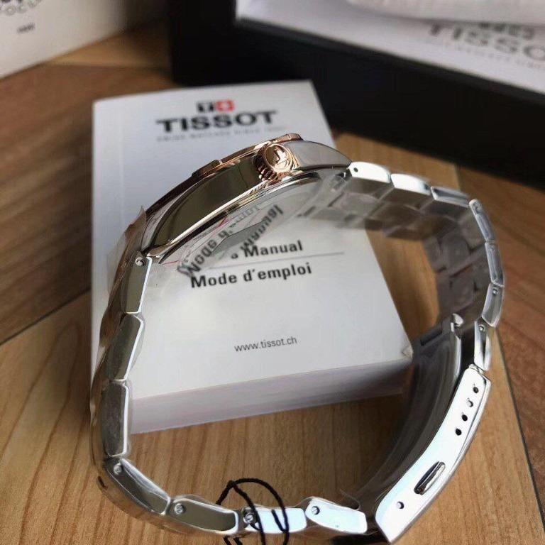 Tissot PR100 Diamond White Mother of Pearl Dial Ladies Watch T101.910.22.116.00