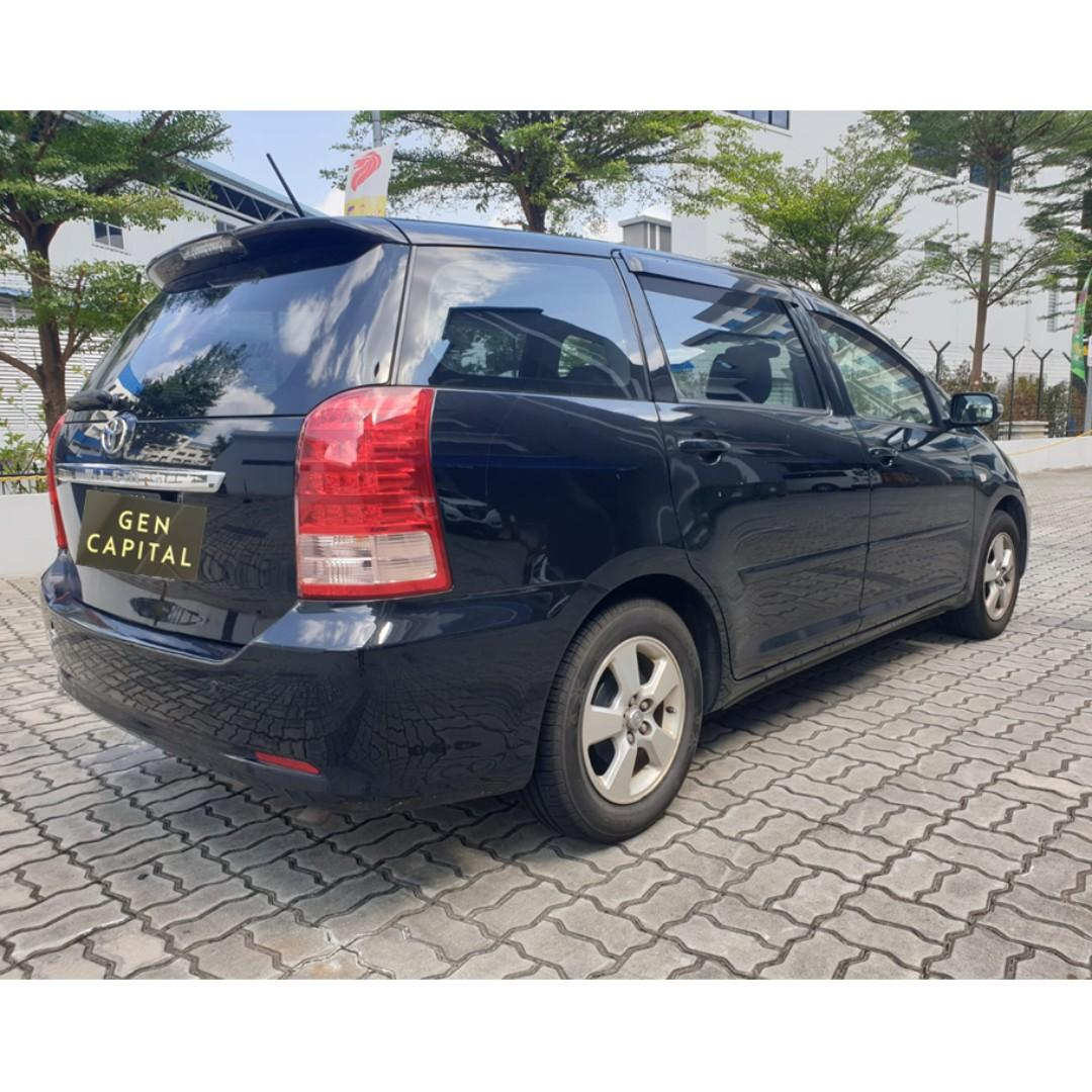 Toyota Wish - Many ranges of car to choose from, with very reliable rates! Hurry while car is still in stock!