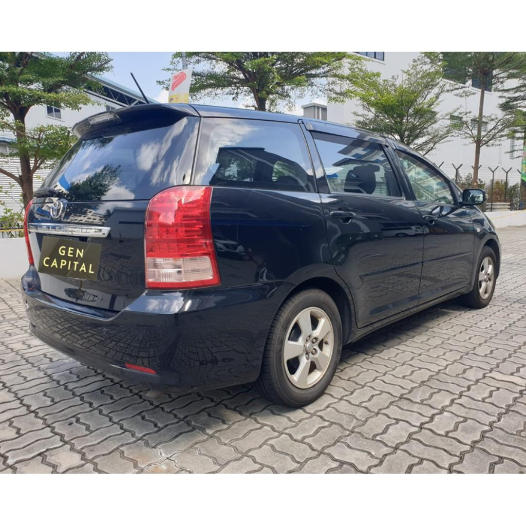 Toyota Wish - Your Choices, Your Preferred Rental!