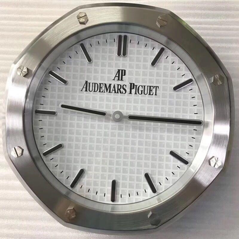 Luxury Brand AP Audemars Piguet Wall Clock (Diameter 34cm)