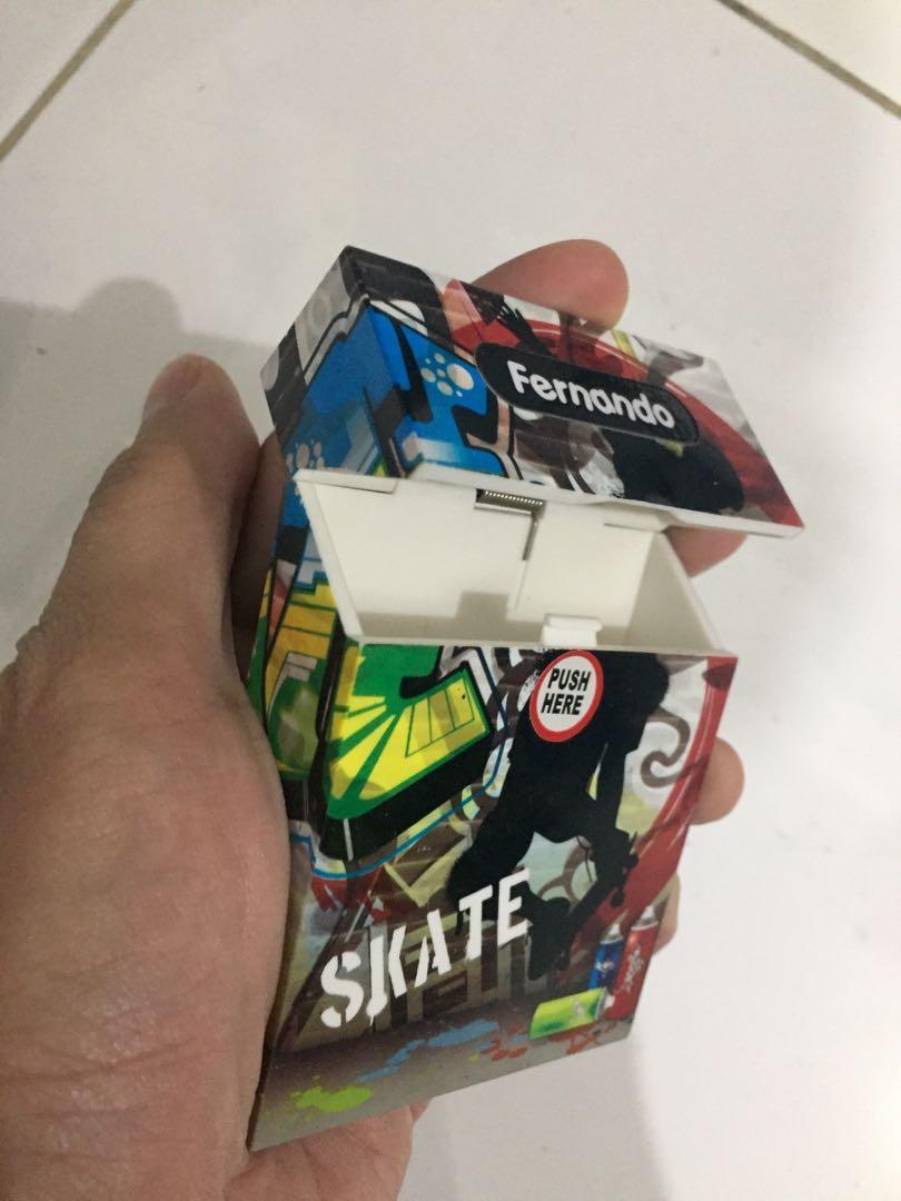 Washi Tape Tempat Rokok Unik Sevel