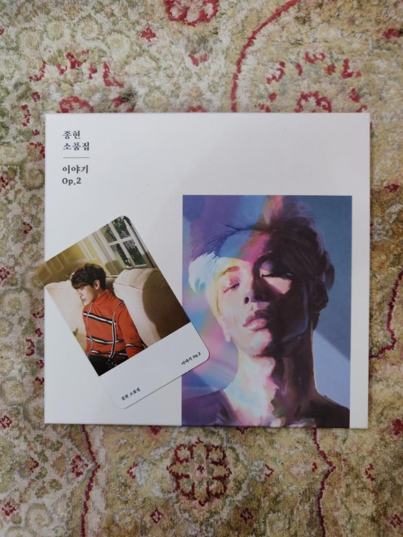 [With PC] Jonghyun Story Op. 2 Album