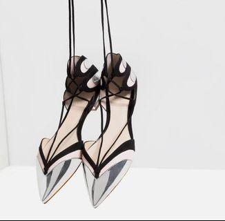 Zara Balerina Strapy Shoes