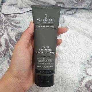 SUKIN OIL BALANCING Pore Refining Facial Scrub