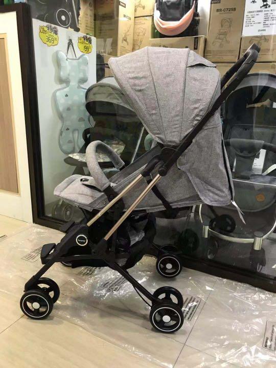 超細部德國🇩🇪初生0-4歲嬰兒車,單手收開車  🌟超方便最大承重28kg  旅行必備