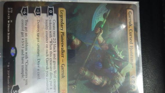 MTG,Garruk, cursed huntsman (borderless) FOIL