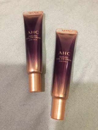AHC 第八代眼霜 極致奢華無齡全效眼霜12ml *2