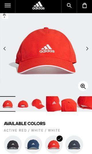 BRAND NEW Adidas c40 cap red