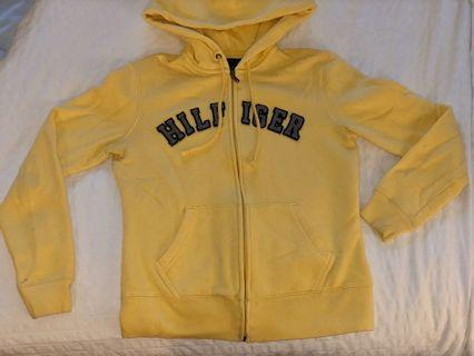 Tommy Hilfiger Yellow Zip Up