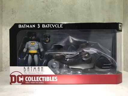 Batman and Batcycle