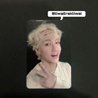 Stray Kids Bangchan Yellow Wood Photocard
