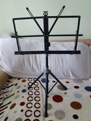 Foldable Portable sheet Music Tripod stand
