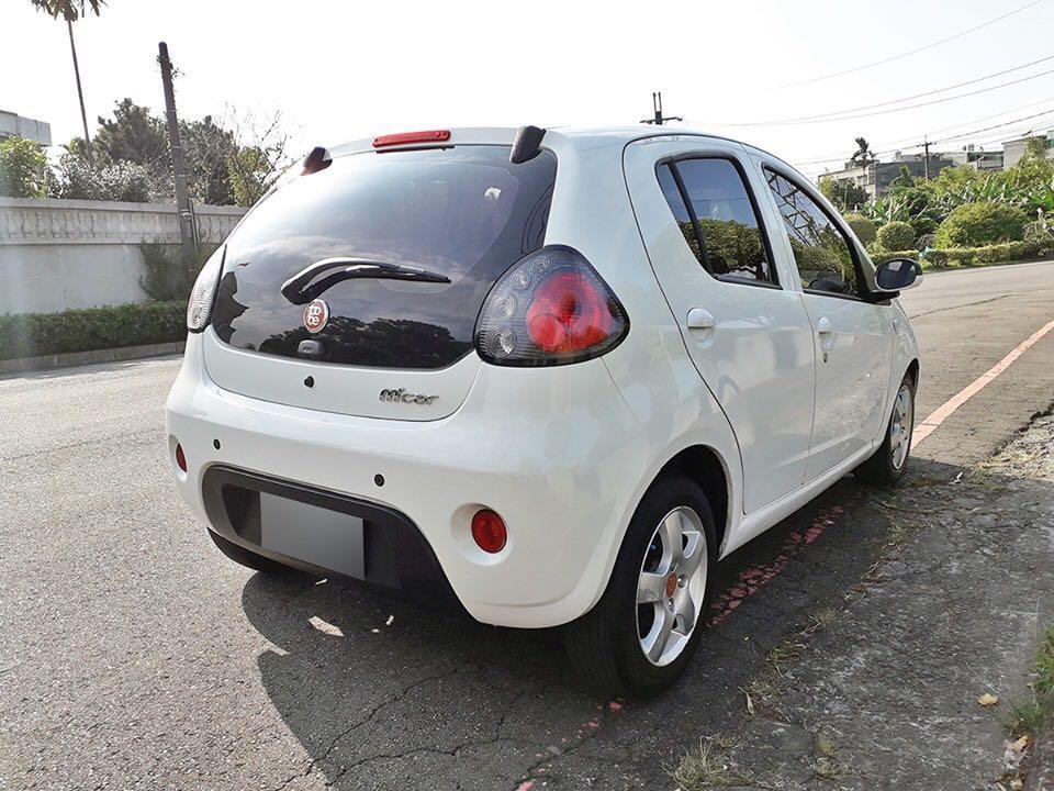 僅跑1萬公里2013出廠M'car可分期輕鬆擁有
