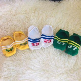 寶寶隱形船襪1-3歲