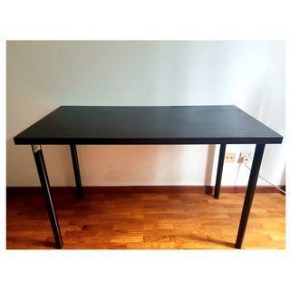 Black IKEA Table 120x60cm