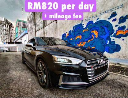 Rent an Audi S5 3.2 in Penang