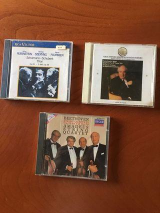 古典原版精選CD 3片