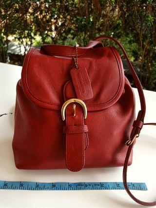 Coach Mini Bagpack