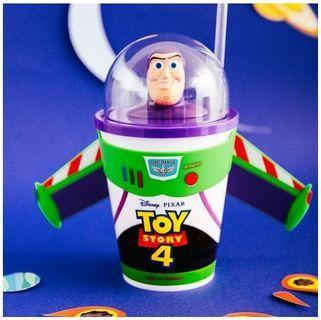 威秀玩具總動員4🚀三眼怪造型杯 胡迪帽子 巴斯光年 火箭爆米花桶