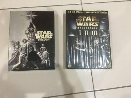 Star Wars 1-6 collection
