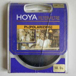 Hoya Polarizing Filter 58mm