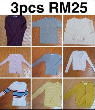 3 pcs RM25