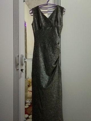Long dress sequin