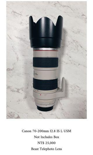 Canon 70-200mm f2.8 IS L USM