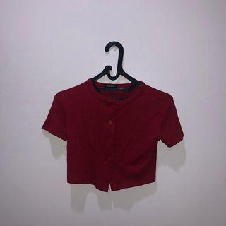 PLUFFY'S CHOICE RIBBED CROP TOP #mauovo