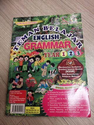 Primary 1 to 3 colorful grammar reference book