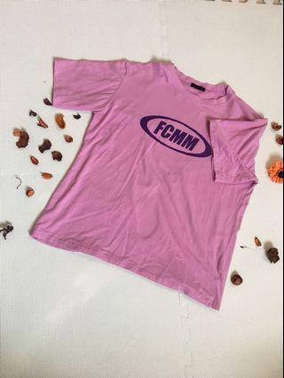 FCMM 紫色寬鬆T恤